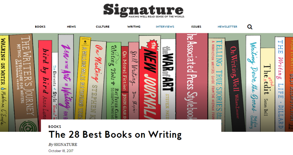 Do You Agree That These Are the Best Books on Writing?